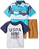 U.S. Polo Assn. Baby Boy's Short Sleeve