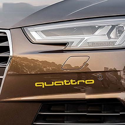 Yellow : For Audi A6 C5 C6 C4 C7 4F S6 RS6 RS Sline Quattro