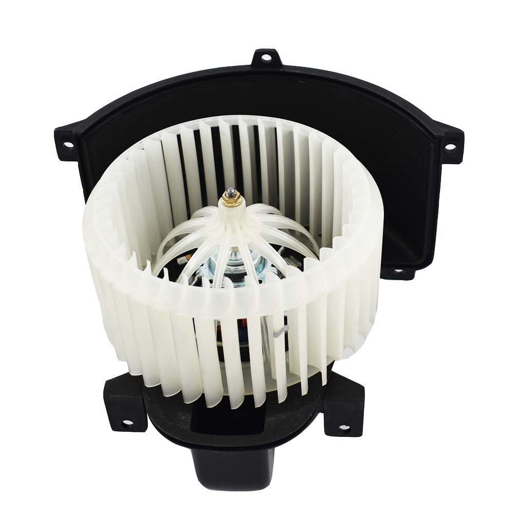 cciyu HVAC Heater Blower Motor with Wheel Fan Cage 27226ZH00A Air Conditioning AC Blower Motor fit for 2004-2010 Infiniti QX56 //2005-2015 Nissan Armada //2004 Nissan Pathfinder //2004-2008 Nissan Titan