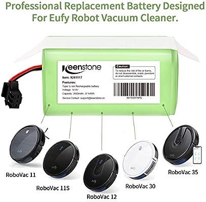Keenstone Batería de Reemplazo para Conga Excellence 990, 14.4V ...