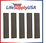 This is a high quality replacement HEPA air purifier filter. This filter is absolutely essential for allergy sufferers designed to filter smoke, dust, pet dander, pollen, mold pores, fabric and other allergen air borne elements. By LifeSupply...