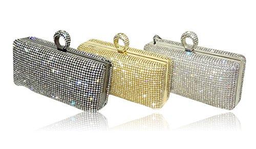 UK pour SIlver petit Pochette Argenté Jewels doré PrestigeApplause femme 56wRqntnx
