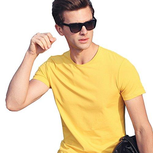 InitialG イニシャルジー ポロシャツ メンズ 長袖 poloシャツ カジュアルシャツ ゴルフシャツ スポーツウエア 無地 ラウンドネック 038-alh-6009