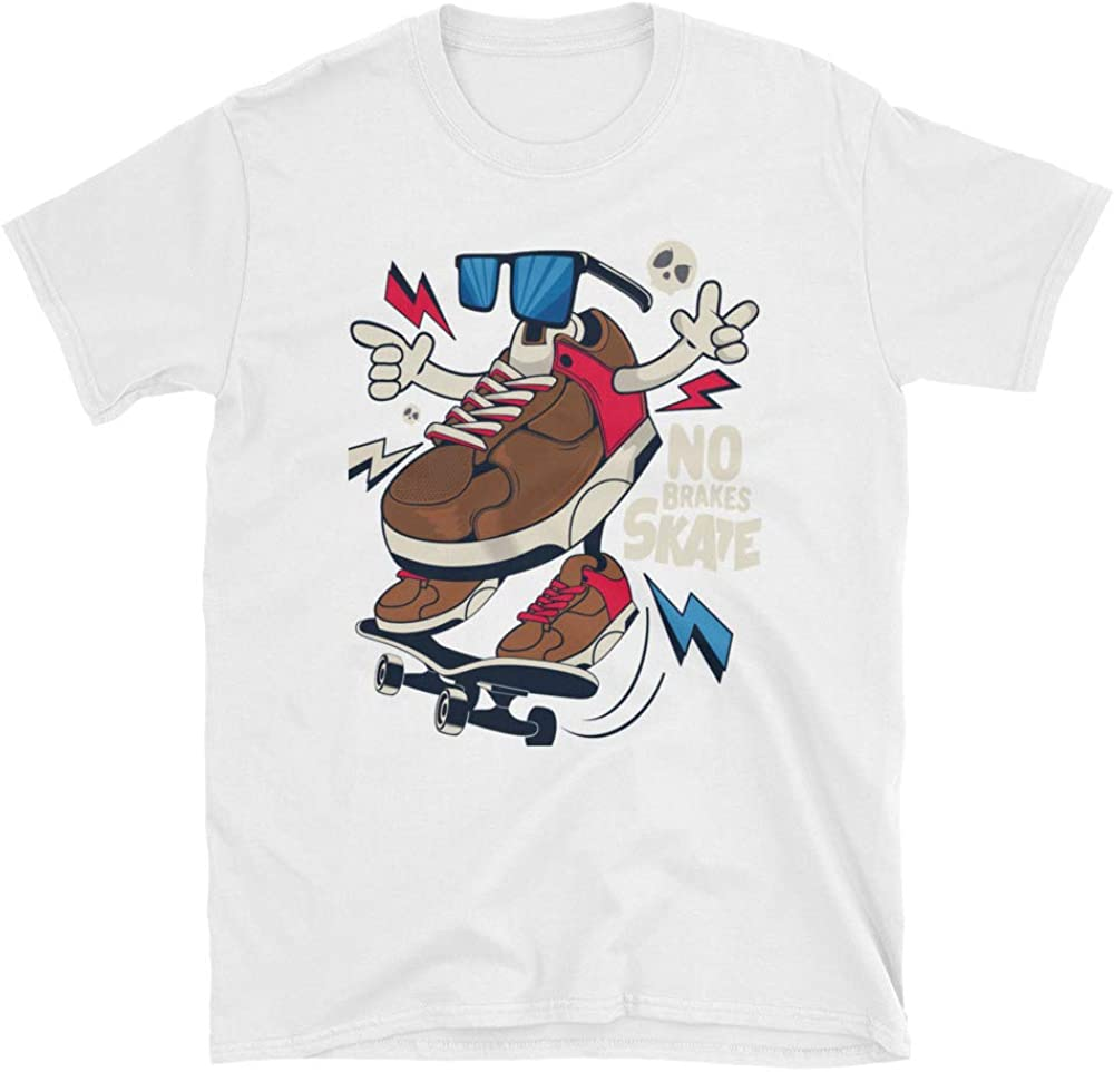 Elkaba-shop Skateboarding Tee Shirt Freestyler T-Shirt Short-Sleeve Unisex T-Shirt