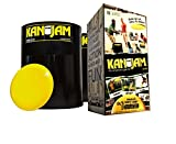 Supreme Quality 5 Piece Kan Jam Game Set, Includes Two Goals, Two Labels And Flying Disc, Quick And Easy to Learn And Set-Up, 6.5Lb., For Aged 9 to 10 Years; 11 to 12 Years & 13+ Years, Black Frisbee