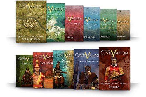 Sid Meier's Civilization V - Szenario Pack: Korea DLC [Mac Steam Code]