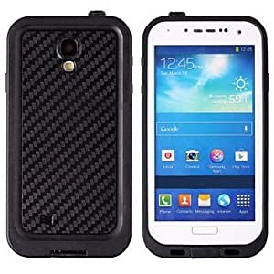Ultra-Thin Waterproof Dirtproof Shockproof Snowproof Protective Case for Samsung Galaxy S4 - Black , White