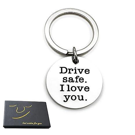 Amazon.com: Drive Safe - Llavero para mujer, para hombre ...