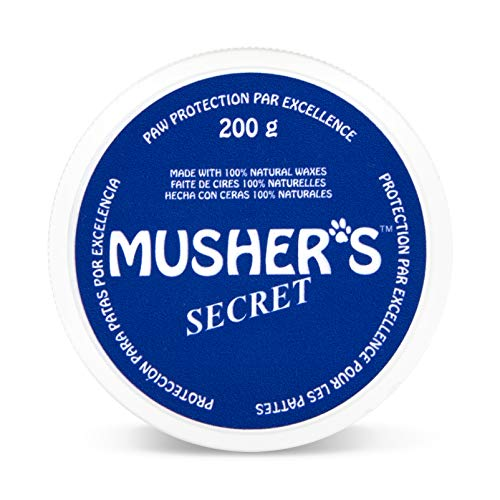(Musher's Secret Pet Paw Protection Wax, 200-Gram)