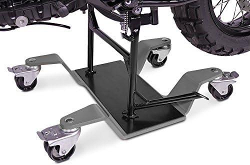 Constands Mover Ii 400 Kg Motorrad Rangierhilfe Für Bmw R 1200 Gs Grau Hauptständer Rangierwagen Auto