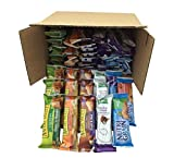 Healthy Bar Snack Mix - Sweet and Salty Granola Variety Pack - Kashi Nature Valley Nutrigrain - 50 Bar Bundle