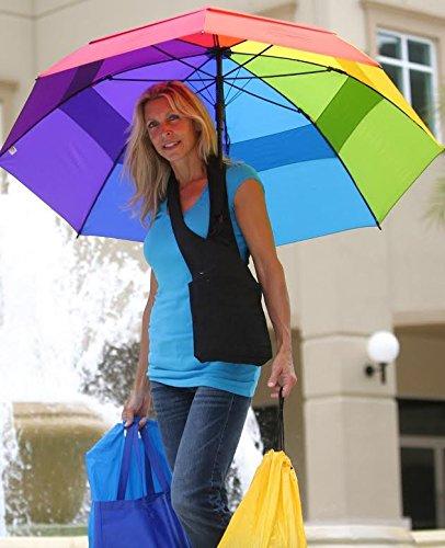 Rehabilitation Advantage Hands-Free Umbrella Holder Bag