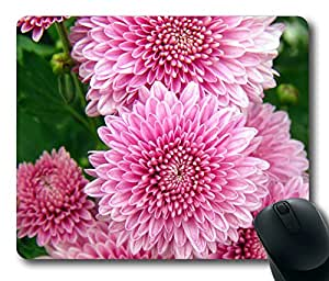Pink Flower Masterpiece Limited Design Oblong Mouse Pad by Cases & Mousepads