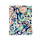 50 in emerson - Emerson Paisley 80 x 50 inch Miss Cozy Microfiber Home Accent Throw Blanket