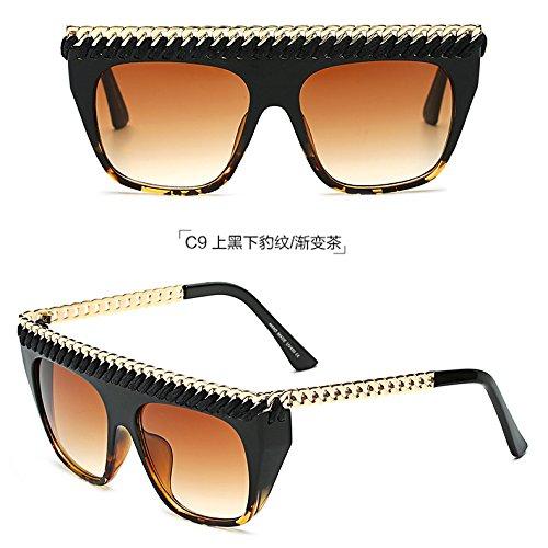 Sol De Sol Gafas Big Personalidad De Y De C7 Gafas c9 zhenghao Frame Xue Femenina Moda wqHPIxfH