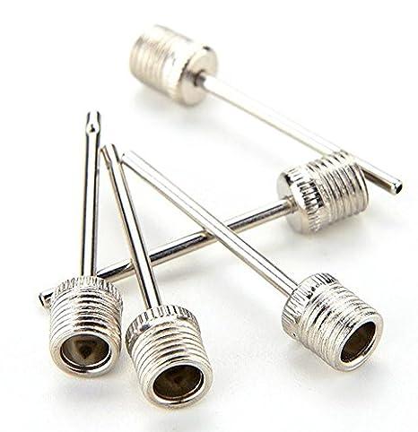 5 - Bomba válvula agujas/Agujas para pelota de fútbol válvulas ...