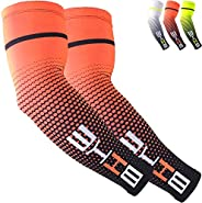 Beister UV Protective Cooling Arm Sleeves UPF 50 for Men & Women, Sports Compression Arm Sle