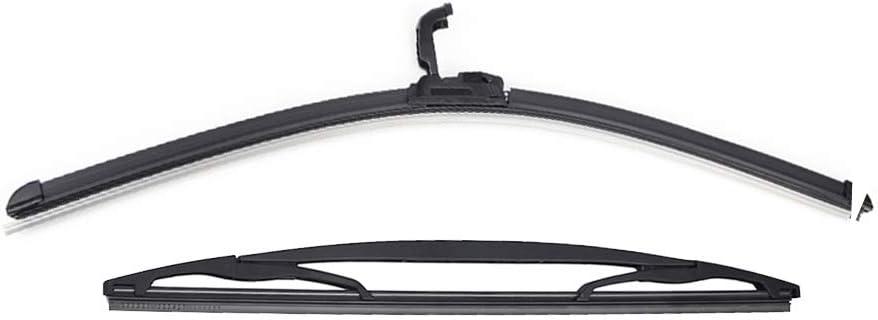 2014 Xukey Set di spazzole tergicristallo anteriori e posteriori per 107 Aygo AB10 C1 2005