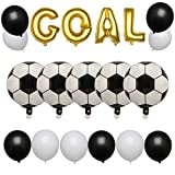 Anmas Home World Cup Soccer Theme Birthday Party Decoration Soccer Goal Balloon Set