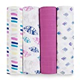 aden + anais Classic Swaddle 4 Pack, Wink