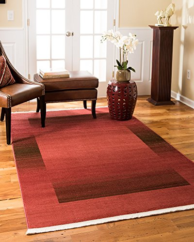 NaturalAreaRugs Bahama Modern Traditional Vintage Inspired Area Rug, Crafted by Artisan Rug Makers, Imported, 6' x 9' Zigler Rug