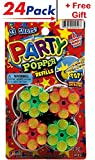 Party Confetti Refill (Pack of 24) + Free Gift by JA-RU. Item 949-24