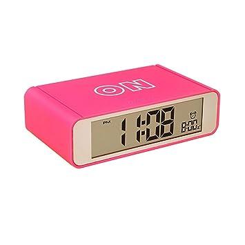 Zensinc Reloj Despertador Digital, con Luz de Noche Funcion Alimentado por Batería, Despertadores Electrónicos para Oficina Niños Dormitorio, ...