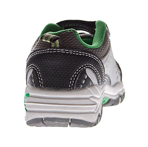 Magnus - zapato de media caña Niños negro-verde