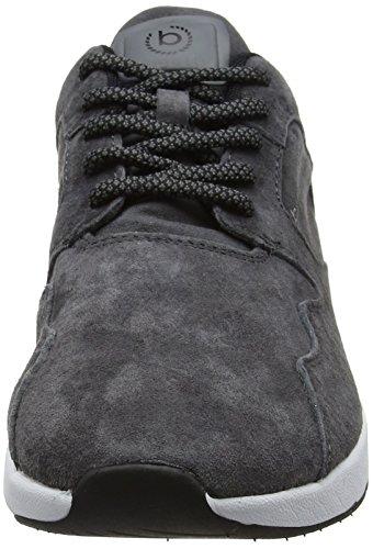 Bugatti 341305043500 - Zapatillas de casa Hombre gris (Dark Grey)
