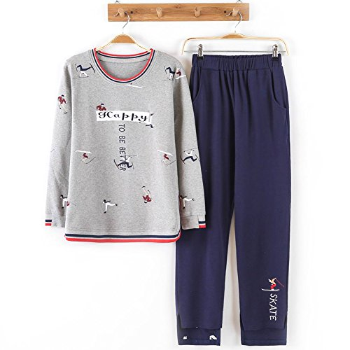 HaloVa Women's Pajamas, Sleepwear Set Sports Long Sleeves Sweatshirt Loungewear