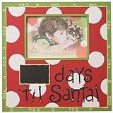 Glory Haus Days 'til Santa Frame, 11.75 by 11.75-Inch