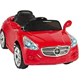 Best Choice Products 12V Kids Ride On Sports Car RC Remote Control Electric Battery Power w/ Radio, AUX Input - Red
