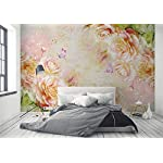 Carta Da Parati 3D Fotomurali Pianta Della Farfalla Rosa Rosa Camera da Letto Decorazione da Muro XXL Poster Design… 51Ep8LzDUTL. SS150