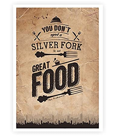 Amazon Com You Don T Need A Silver Fork To Eat Good Food Kitchen