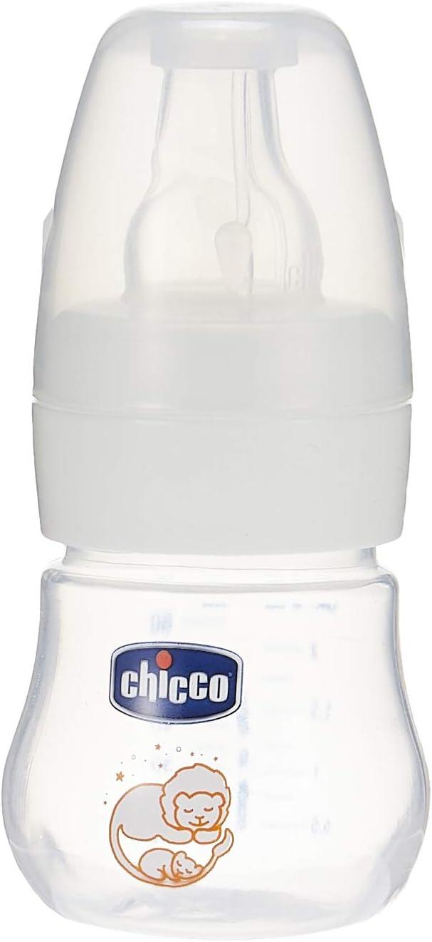 زجاجة رضاعة صغيرة الحجم من شيكو بسعة 60 مل