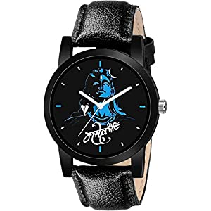 The Shopoholic Blue Mahadev Analog Watch for Men