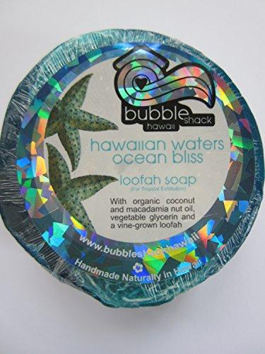 Hawaiian Bubble Shack Loofah Glycerin Soap Waters Ocean Bliss 4 - Hawaiian Soap Bar