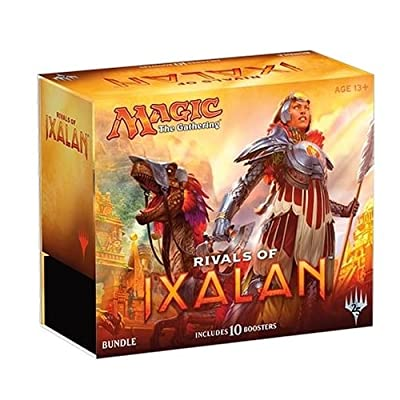 Magic The Gathering MTG-Rix-BU-EN Rivals of Ixalan Bundle Trading Cards: Toys & Games