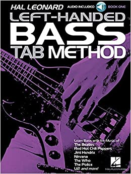 Hal Leonard Left-Handed Bass Tab Method - Book 1 by Eric W. Wills (2015-10-01)