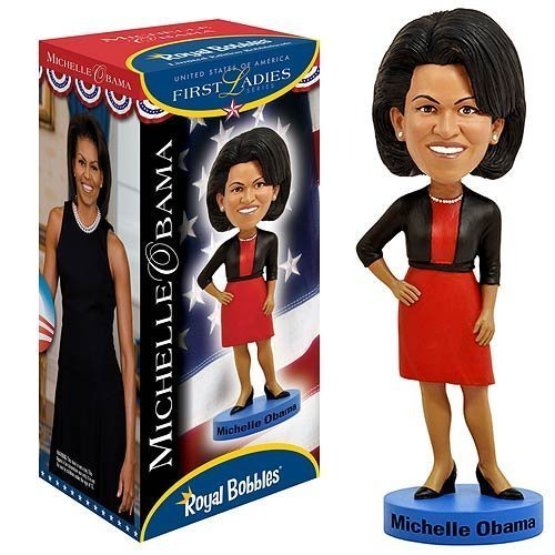 Royal Bobbles Michelle Obama First