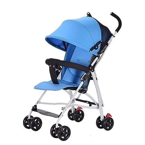 KKCD-Cochecito De Bebésilla De Paseo Cochecito De Bebé Liviano Transporte En Cochecito De Bebé