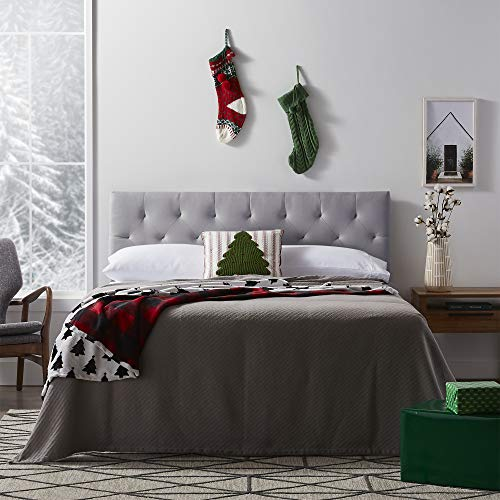 LUCID Mid-Rise Upholstered Headboard - Adjustable Height from 34