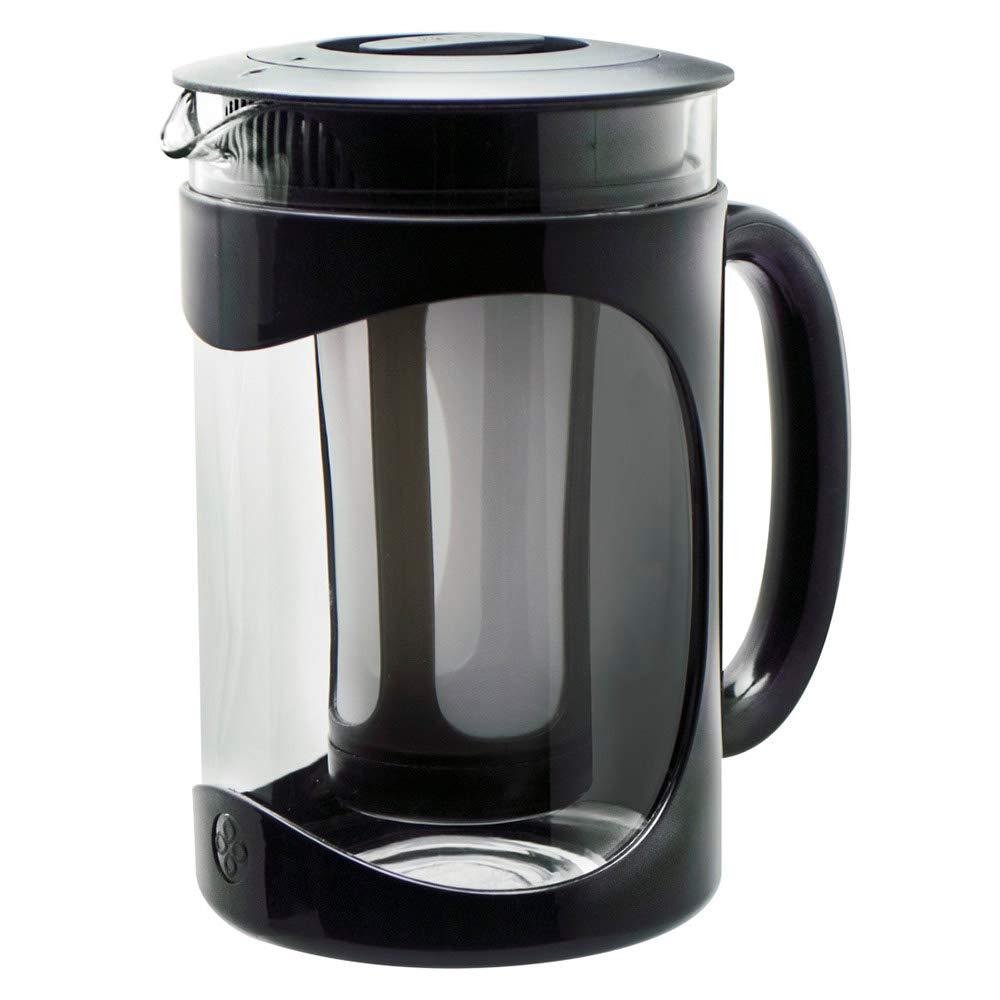 Primula Burke Cold Brew Iced Coffee Maker - Glass Carafe 1.6 Qt (51.2 oz), Black