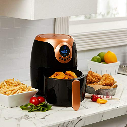 Jual Copper Chef 2 Qt Black And Copper Air Fryer Turbo Cyclonic