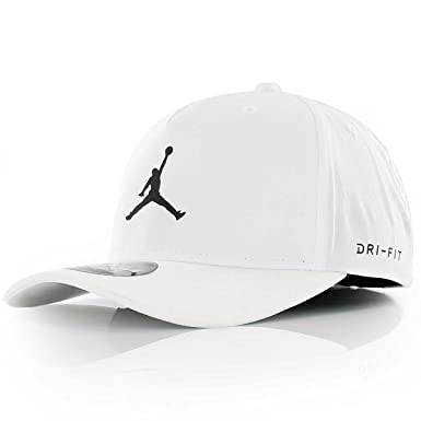 df9596c42f0 ... uk nike mens jordan jumpman cl99 woven hat white black small medium  2ea24 a6b17