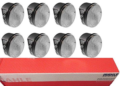 Std Bore Piston Kit - Clevite MAHLE Chevy Pontiac 5.7 5.7L LS1 Coated Skirt Pistons+Moly Rings Kit STD (3.90