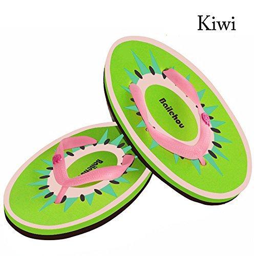 Years Sintético Sandalias mujer para de vestir Material Calm Kiwi de HpYxHw
