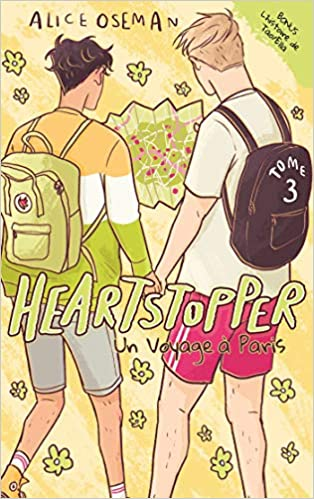 Amazon.fr - Heartstopper - Tome 3 - Un voyage à Paris - OSEMAN ...