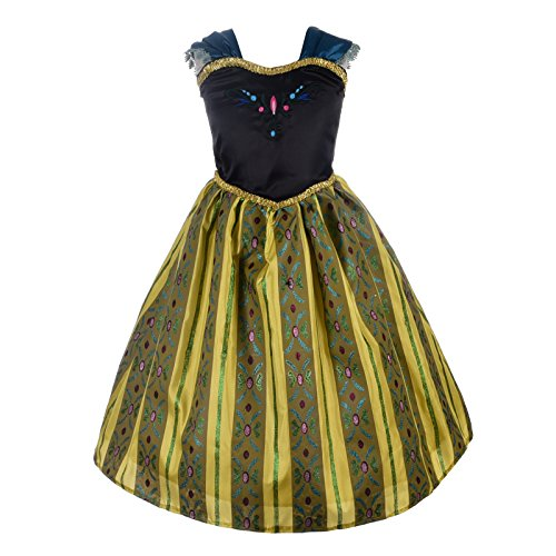 Dressy Daisy Girls Frozen Anna Coronation Gown Princess Dress Halloween Fancy Dress Costumes