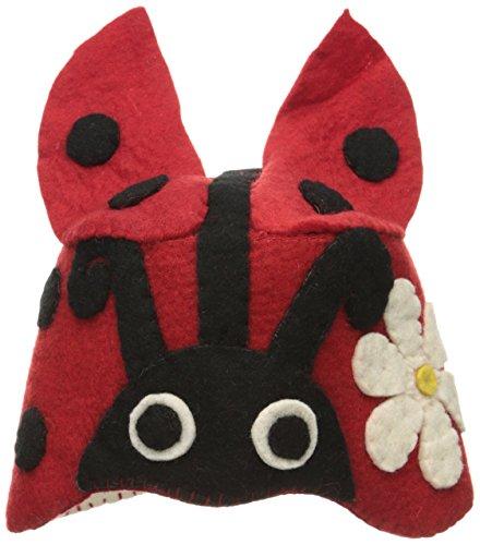 Silk Road Bazaar Zootie Hats Ladybug, Red/Black by Silk Road Bazaar